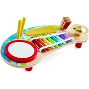 Hape Five-in-one Music Station Activity Toy