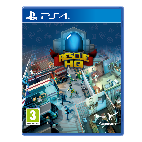 Rescue HQ PS4 Game