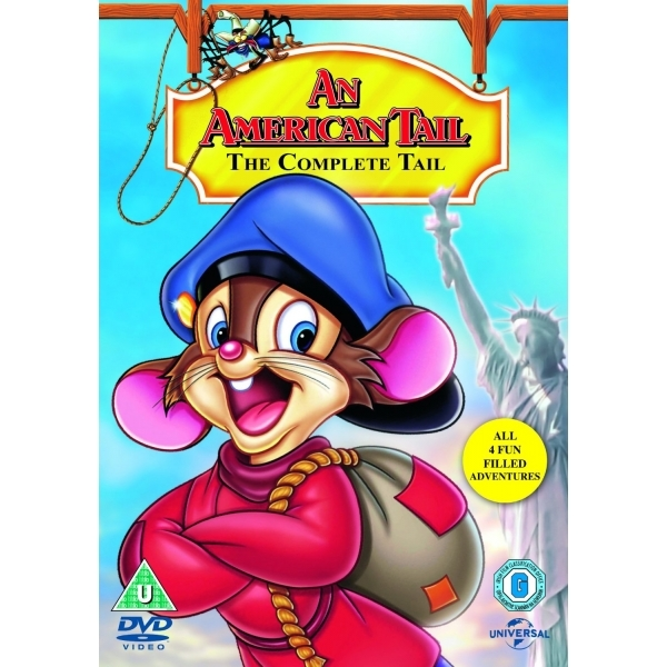 An American Tail: 1-4 DVD