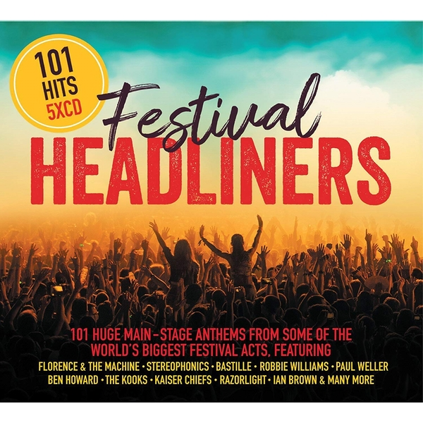 101 HITS Festival Headliners CD