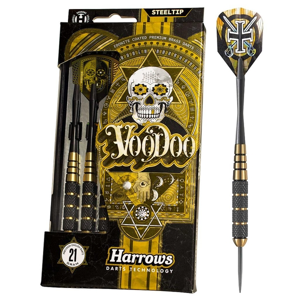 Harrows Vodoo Brass Darts - 25g