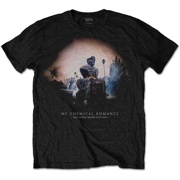 My Chemical Romance - May Death Cover Unisex Large T-Shirt - Black