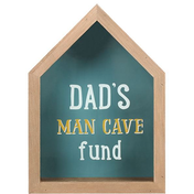 Dad's Man Cave Fund Money Box
