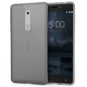 Nokia 5 Ultra Thin TPU Gel Case - Smoke Black