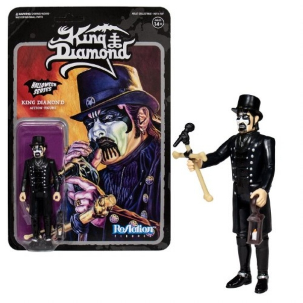 King Diamond Top Hat (King Diamond) ReAction Figure