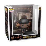 Notorious B.I.G. Life After Death with Case Funko Pop! Vinyl Albums #11