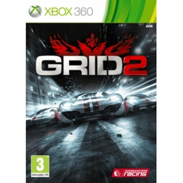 Grid 2 Game Xbox 360