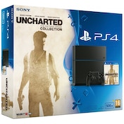 PlayStation 4 (500GB) Console with Uncharted The Nathan Drake Collection