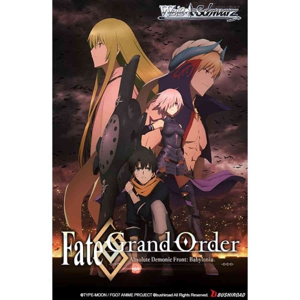 Weiss Schwarz Booster Pack: Fate Grand Order Absolute Demonic Front - Babylonia
