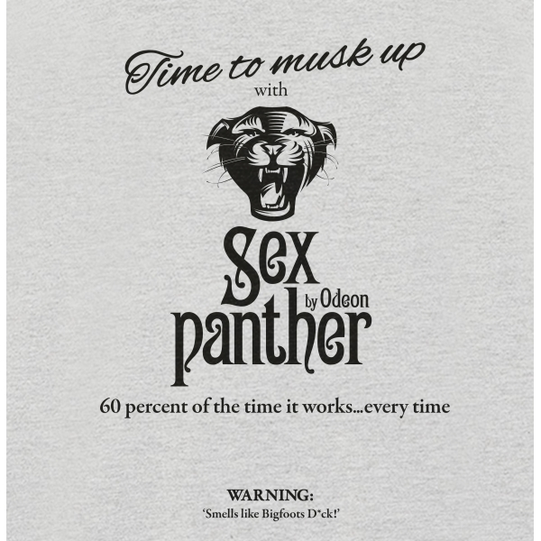 Anchor Man Sex Panther Musk Grey Womens T-Shirt Small ZT - Image 2