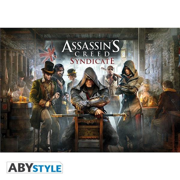 Assassin's Creed - Syndicate/ Jacket (98 x 68cm) Large Poster