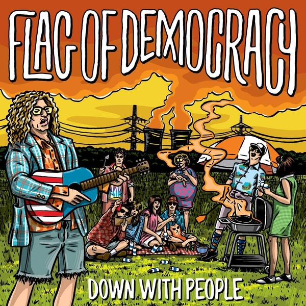 Flag Of Democracy - Down With People Vinyl