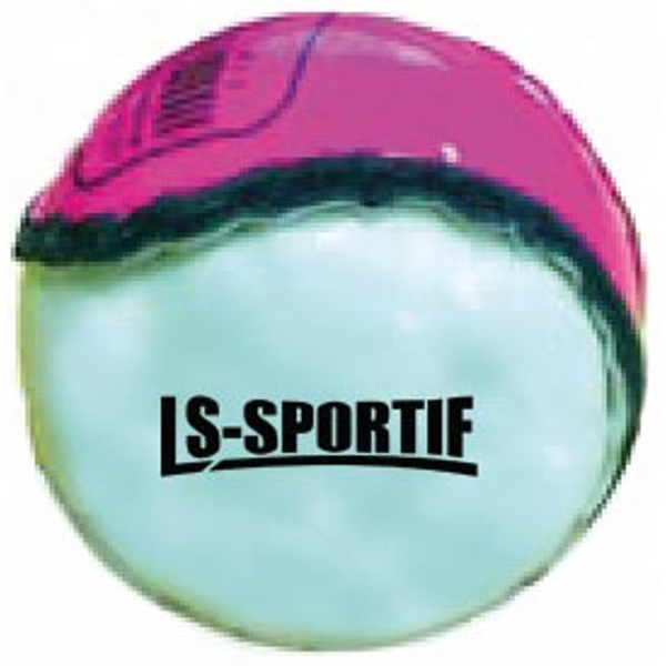 LS Sportif Hurling Club and County Sliotar Ball Pink/White - Adult