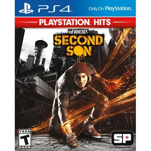 inFamous Second Son PS4 Game (PlayStation Hits)