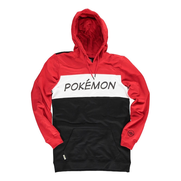 Pokemon - Colour Block Male Small Hoodie - Multi-colour