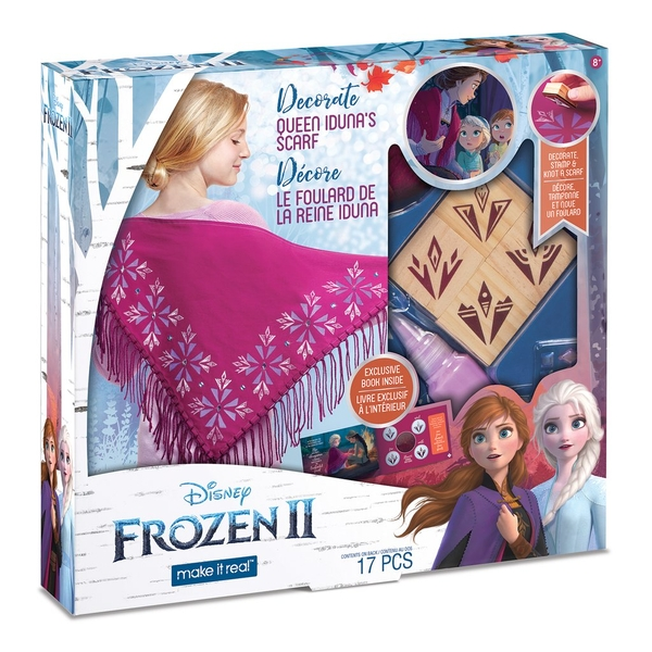 Make It Real - Disney Frozen 2 Decorate Queen Iduna's Shawl Kit