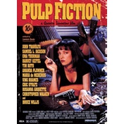 Pulp Fiction - Cover Large Poster