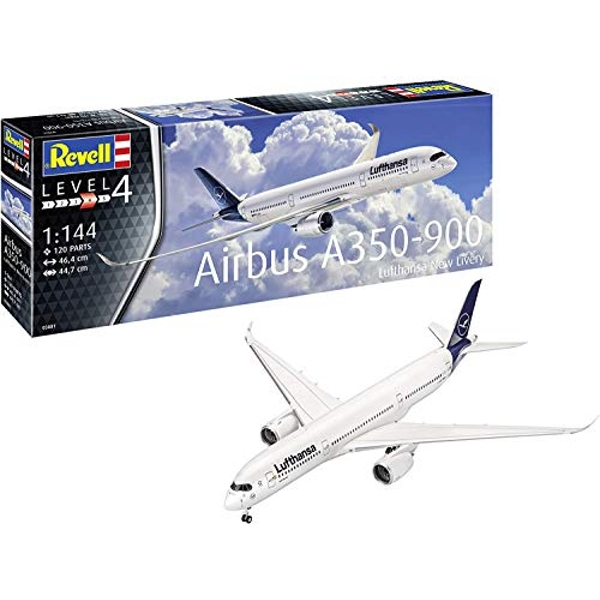 Airbus A350-900 Lufthansa New Livery Revell Model Kit