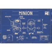 Despicable Me (minion Blue Print) Maxi Poster