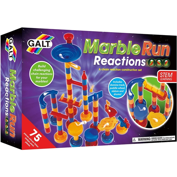 Marble Run Reactions Construction Toy