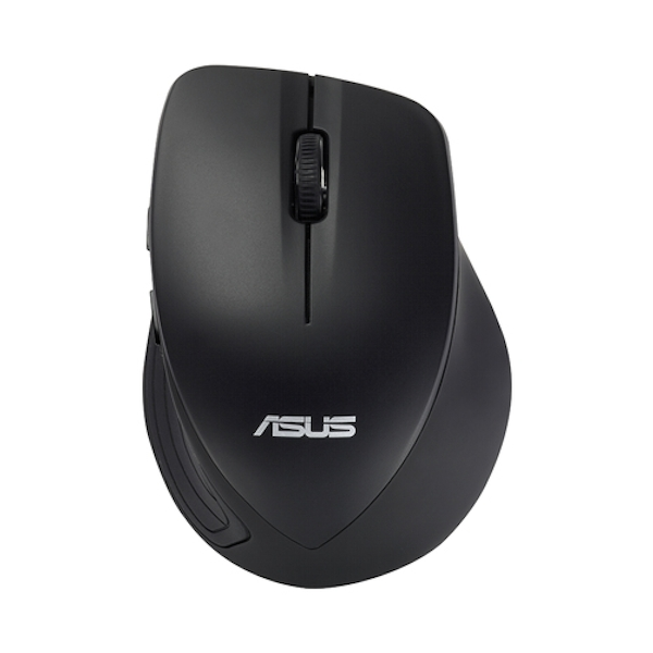 Asus WT465 Wireless Optical Mouse, 1000/1600 DPI, Black