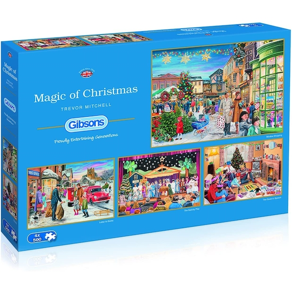 Magic of Christmas Jigsaw Puzzle - 4 x 500 Pieces