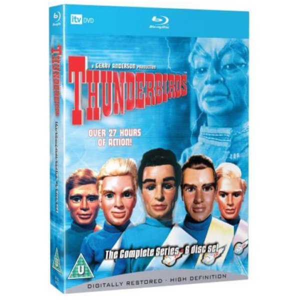 Thunderbirds Complete Collection Blu-Ray