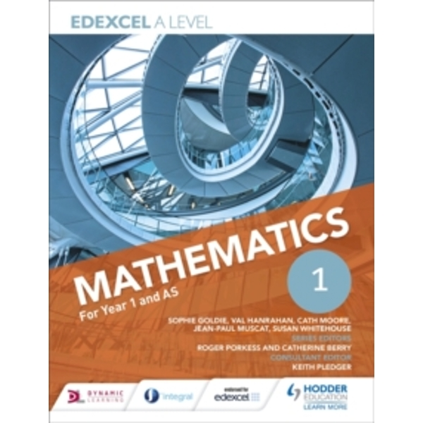 Edexcel A Level Mathematics Year 1 (AS) by Val Hanrahan, Susan Whitehouse, Cath Moore, Sophie Goldie, Jean-Paul Muscat (Paperback, 2017)