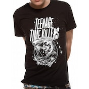 Teenage Time Killers - The Reaper Men's Small T-Shirt - Black