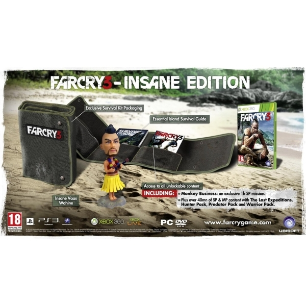 Far Cry 3 Insane Edition Game Xbox 360 - Image 2