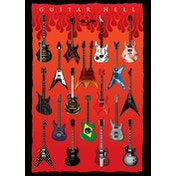 Guitar Hell - The Axes of Evil Postcard