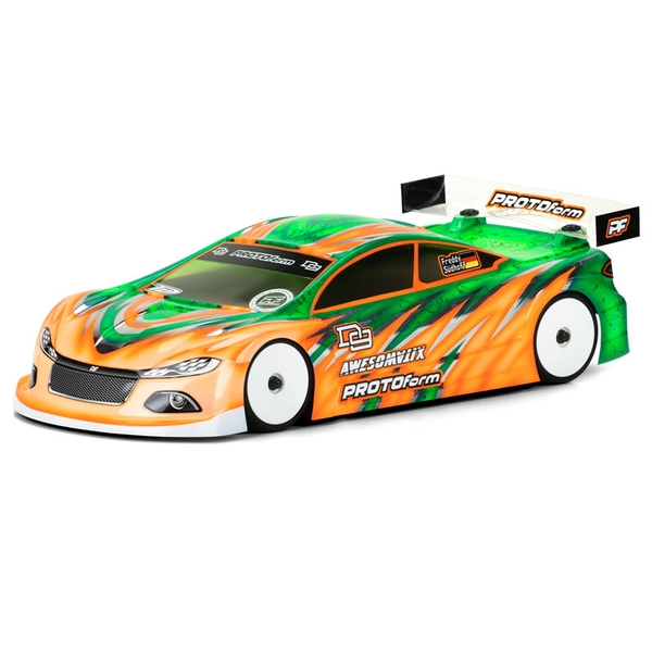 Protoform D9 Pro-Lite Weight Bodyshell 190Mm (Clear)