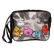 Mr Men Characters Abbey Road Messenger Bag
