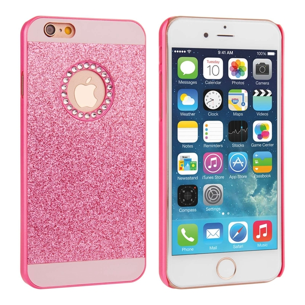 Compare prices with Phone Retailers Comaprison to buy a Apple iPhone 8 Flash Diamond Case - Pink (Ma)