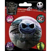Nightmare Before Christmas - Characters Vinyl Sticker