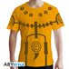 Naruto Shippuden - Chakra Mode Men's Small T-Shirt - Yellow - Image 2