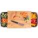 Bamboo Chopping Board with Trays | M&W - Image 3