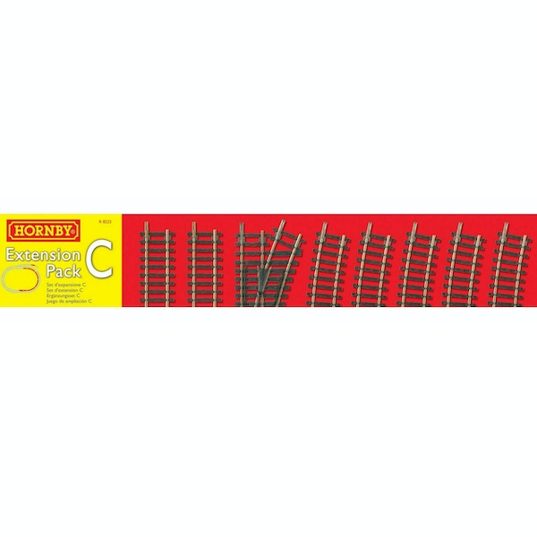 Hornby Railways Track Extension Pack C