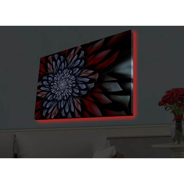 4570HDACT-070 Multicolor Decorative Led Lighted Canvas Painting