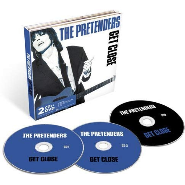 The Pretenders Get Close CD + DVD