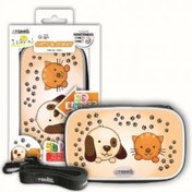 Atomic Accessories Catty & Doggy 3D Bag 3DS, DSI, DS Lite