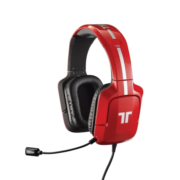 368c56c5f4e Tritton AX 720+ Gaming Headset With 720 Dolby Digital Surround Sound (Red)  PS4