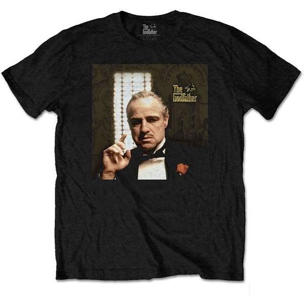 The Godfather - Pointing Unisex Large T-Shirt - Black