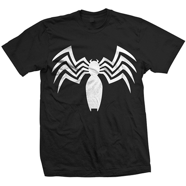 Marvel Comics - Ultimate Spiderman Venom Unisex Medium T-Shirt - Black