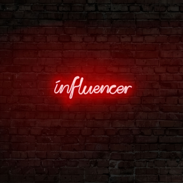 Influencer - Red Red Wall Lamp