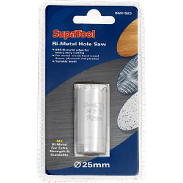 SupaTool Bi-Metal Hole Saw 25mm