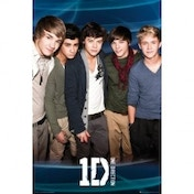 One Direction X Factor Blue Maxi Poster