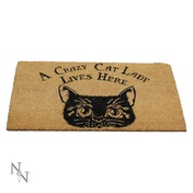 Crazy Cat Lady Doormat