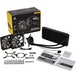 Corsair Hydro H100X 240mm Liquid CPU Cooler, 2 x 12cm PWM Fans, LED Pump Head - Image 2