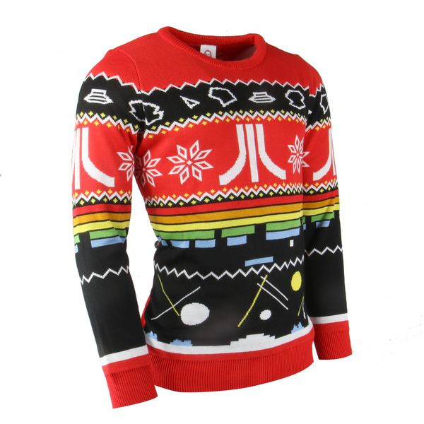 Atari - Official Atari Unisex Christmas Jumper Medium